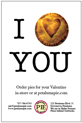 Order pies for your sweetie