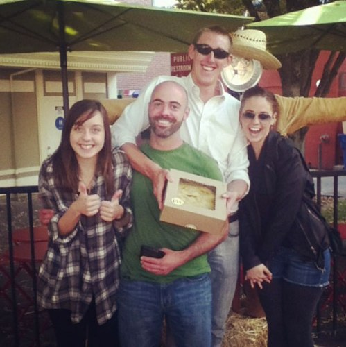 Correctly guessed the weight of the Petaluma Pie