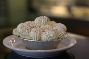banana cream pie at petaluma pie company