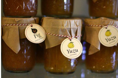 Fig Jam and Yuzu Marmalade at Petaluma Pie Company