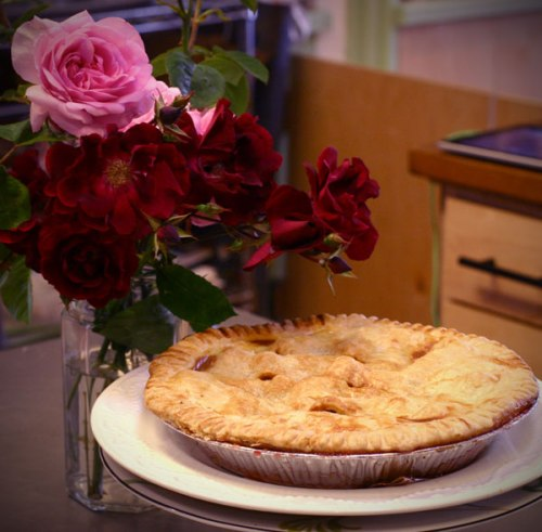 roses and pie