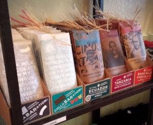 Askinosie Chocolate Bars at Petaluma Pie Company