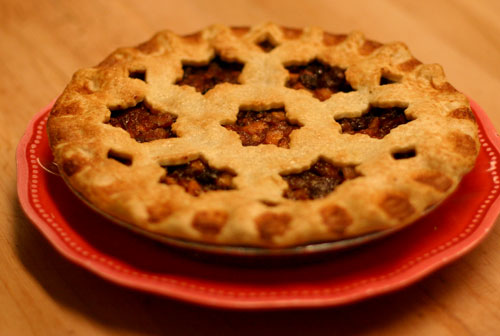 brandy mincemeat pie