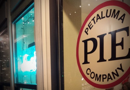 Petaluma Pie Company in downtown Petaluma, California