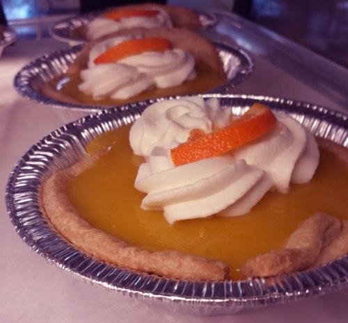 Creamy Tangerine Dream Supreme at Petaluma Pie Company
