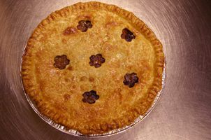 brandy mincemeat pie at Petaluma Pie Company